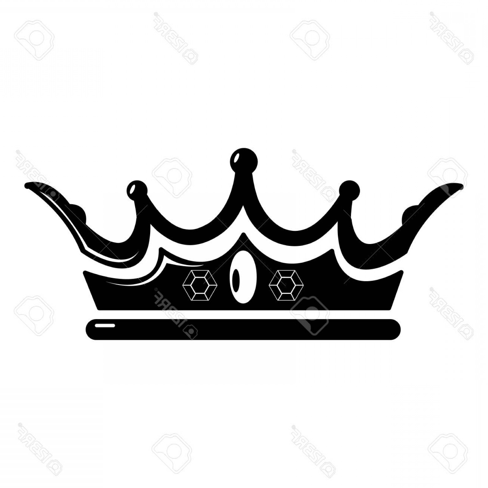 Crown Vector Clip Art: Photostock Vector Princess Crown Icon Simple Illustration Of Princess Crown Vector Icon For Web