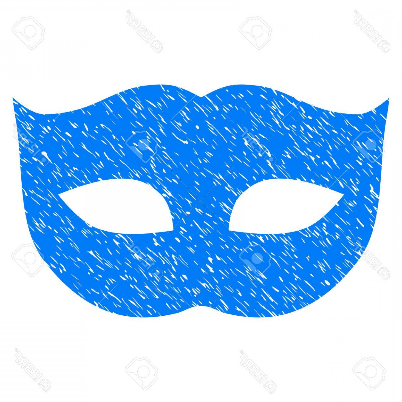 Mask Overlay Vector: Photostock Vector Privacy Mask Grainy Textured Icon For Overlay Watermark Stamps Flat Symbol With Dust Texture Dotted