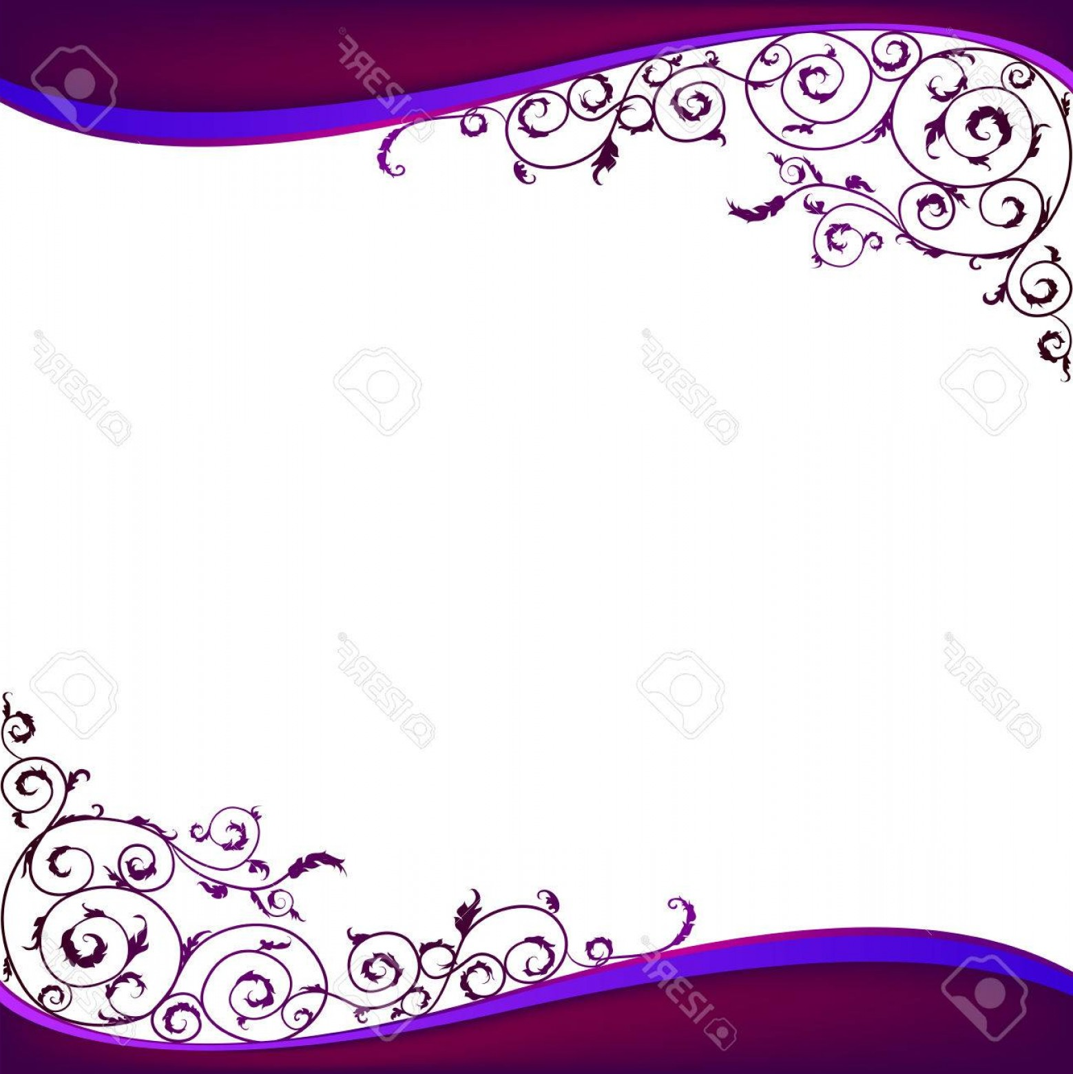 Violet Swirl Design Vector: Photostock Vector Purple And White Abstract Background With Swirls