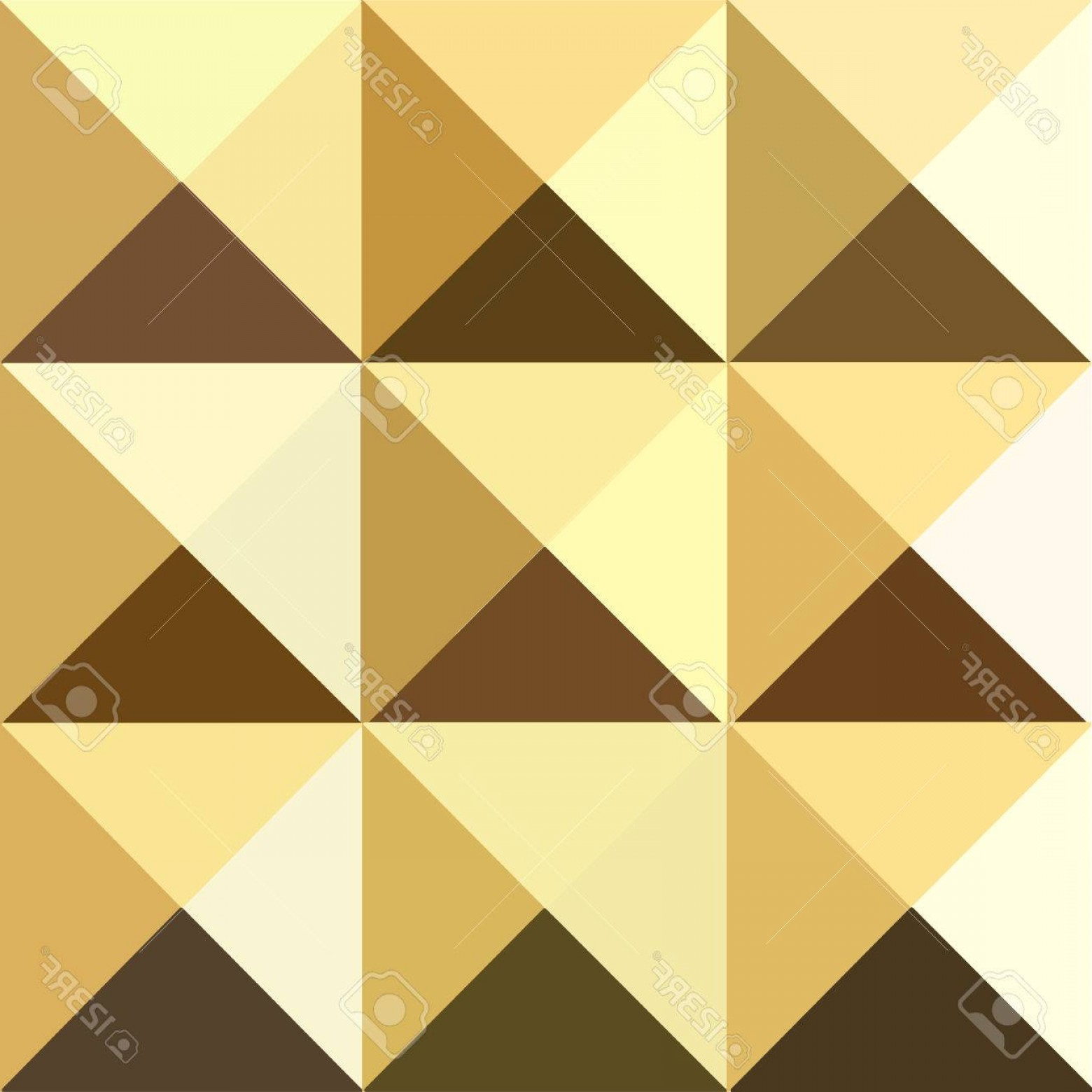 Pyramid Stud Vector: Photostock Vector Pyramid Seamless Pattern Polygon Colorful Golden Studs Background
