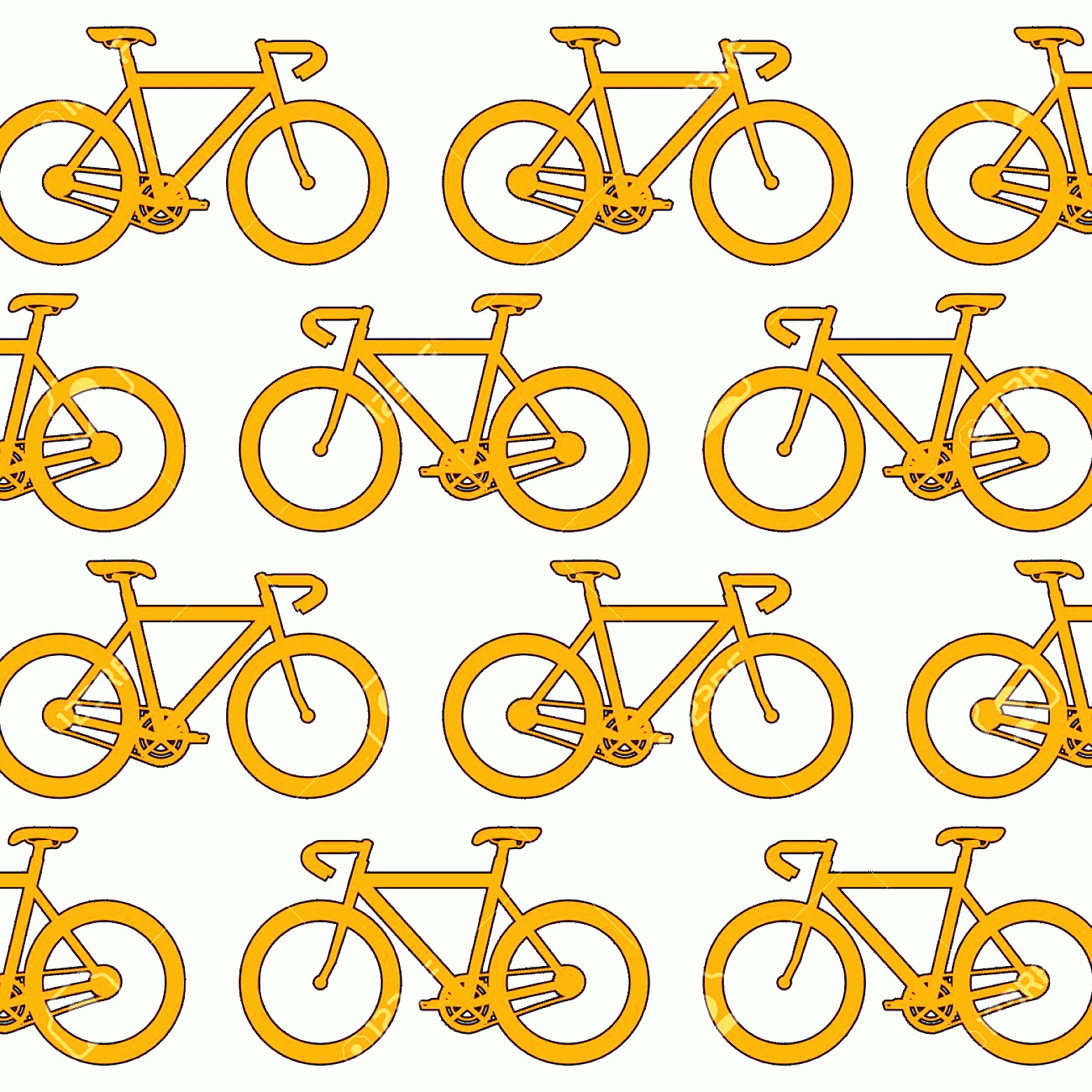Bicycle Vector Artwork Of Patterns: Photostock Vector Racing Bicycle Pattern Background Vector Illustration Design