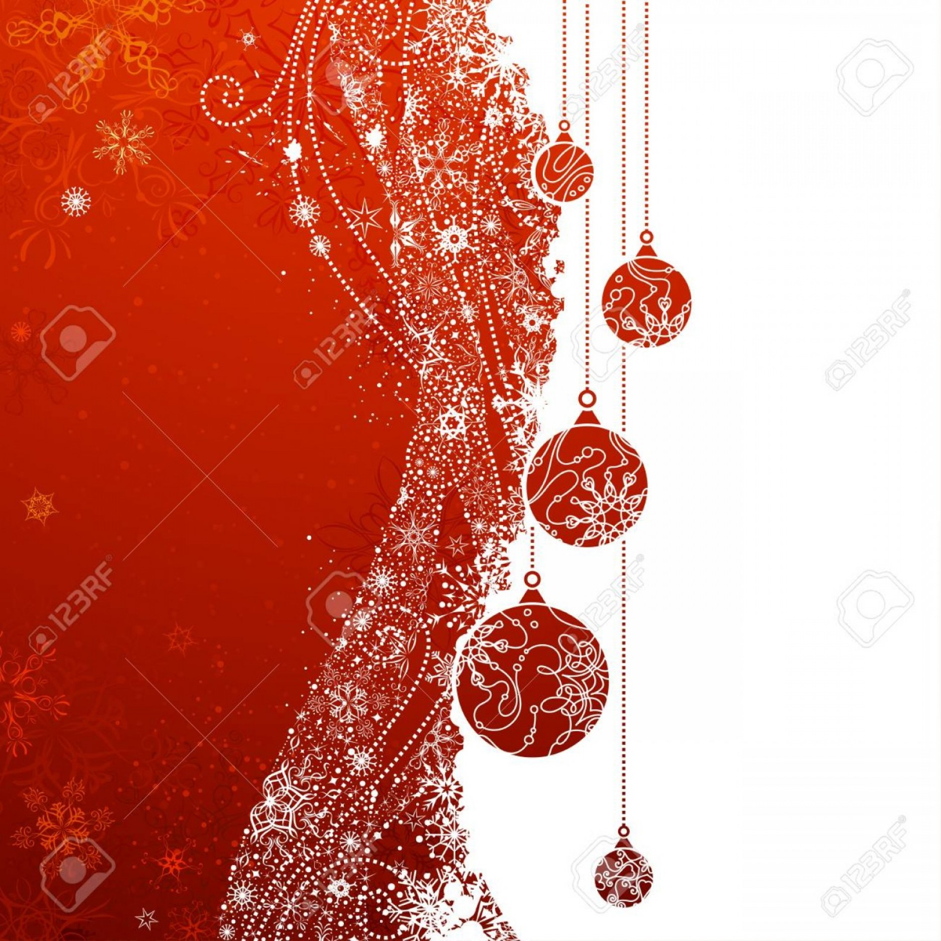 Total Recall Vector Red Jacket: Photostock Vector Red Christmas Background Grunge Vector Background With Snowflakes Christmas Balls And Decorations Th
