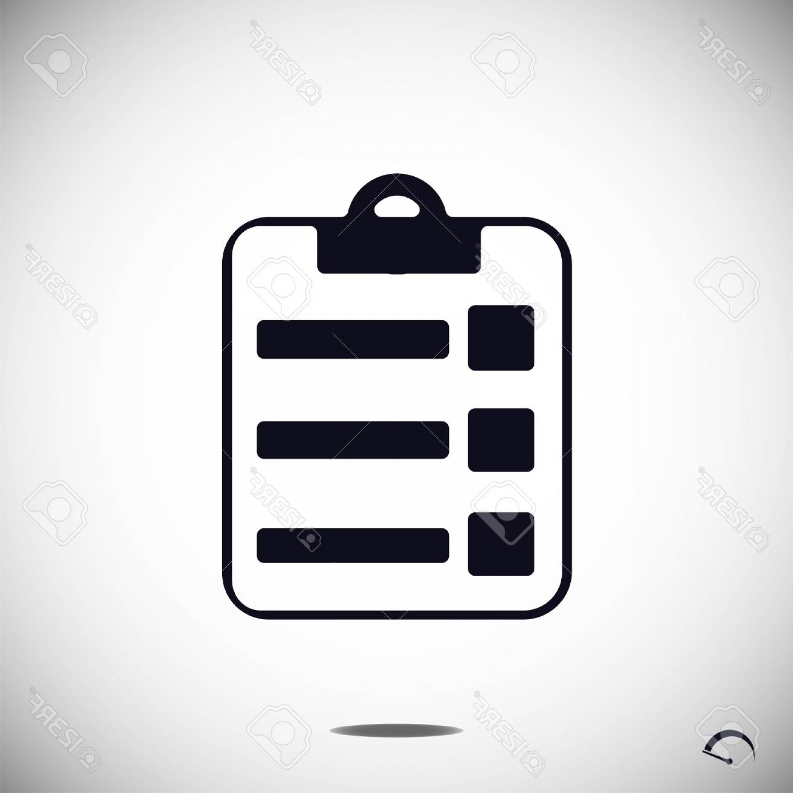 Report Icon Vector: Photostock Vector Report Icon Vector Best Flat Icon