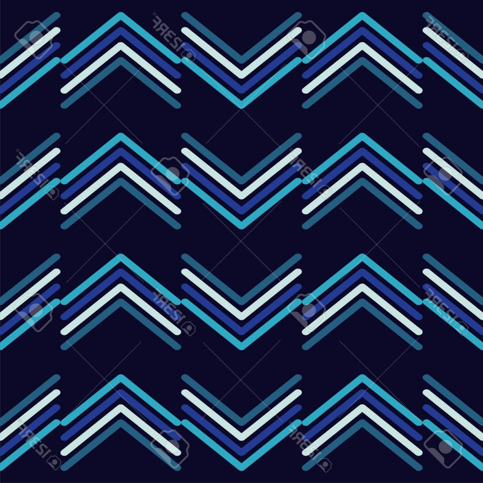 Rapport Vector: Photostock Vector Seamless Geometric Pattern The Texture Of The Strips Textile Rapport Vector Illustration