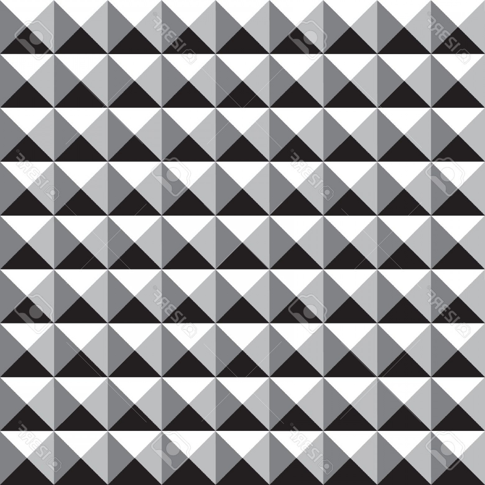 Pyramid Stud Vector: Photostock Vector Seamless Square Stud Pattern Background