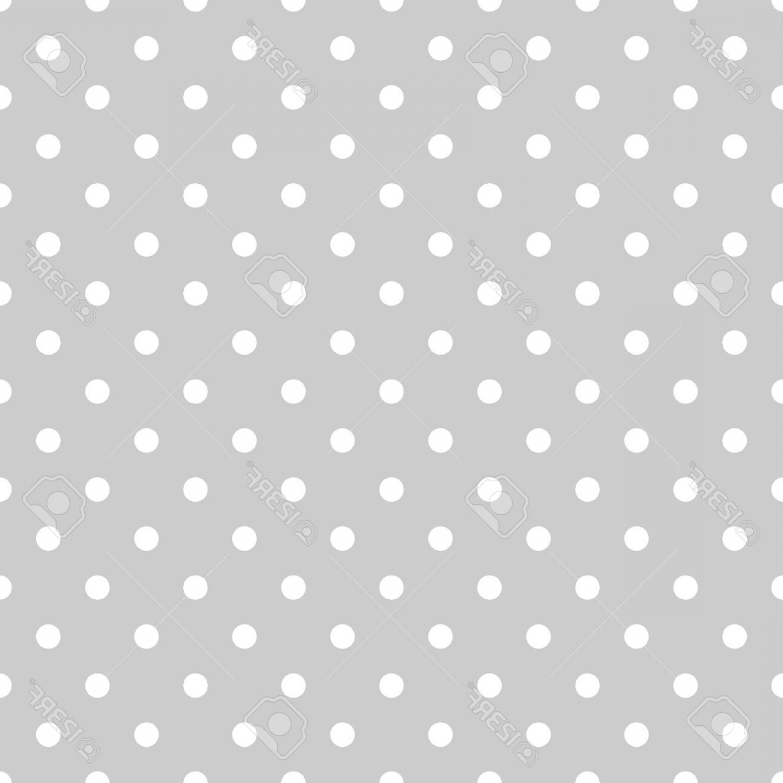 Polka Dot Background Vector Y: Photostock Vector Seamless White And Grey Pattern Or Tile Background With Small Polka Dots For Desktop Wallpaper And W