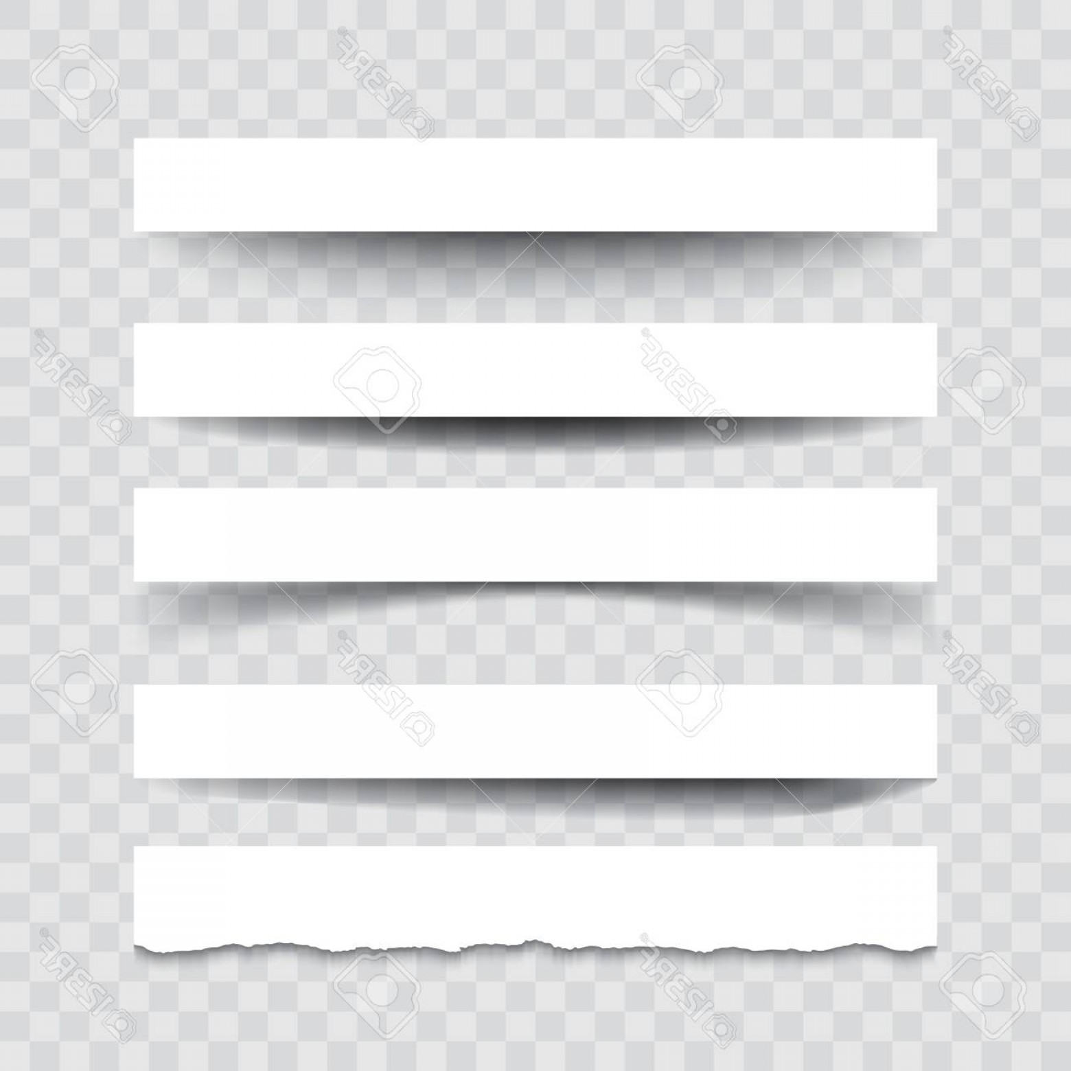 Vector Line Dividers Transparent Backgrounds: Photostock Vector Set Of Vector Dividers Isolated On Transparent Background