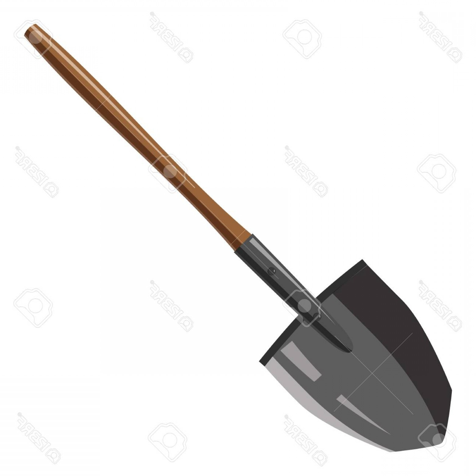 Shovel Vector: Photostock Vector Shovel Icon Cartoon Illustration Of Shovel Vector Icon For Web