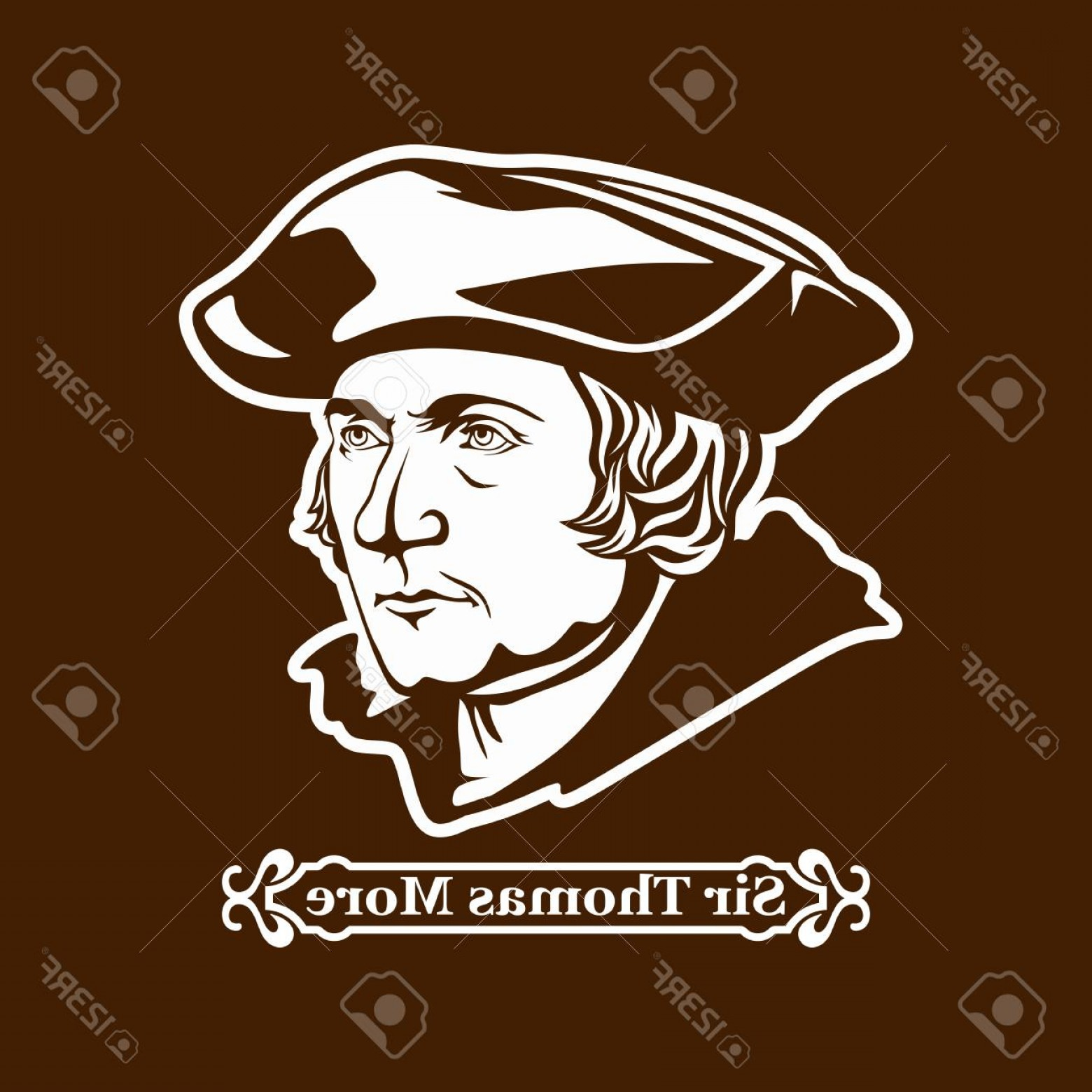Thomas And Thomas Vector: Photostock Vector Sir Thomas More Protestantism Leaders Of The European Reformation