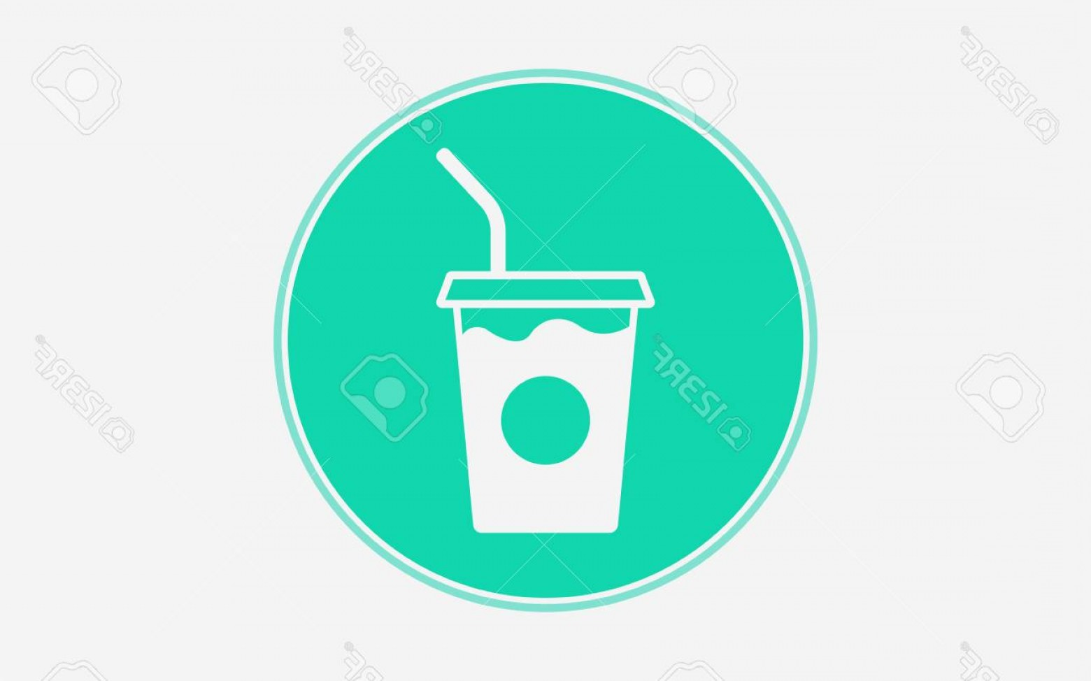 Snow Cone Outline Vector: Photostock Vector Smoothie Drink Cup Line Icon Outline Vector Sign Linear Style Pictogram Isolated On White Symbol Log