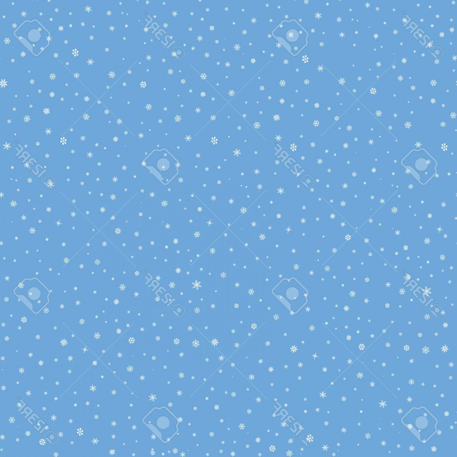 Snow Falling Vector Free: Photostock Vector Snow Winter Holiday Background Snowflakes Texture Snow Falling On Blue Background Gentle Seamless Pa