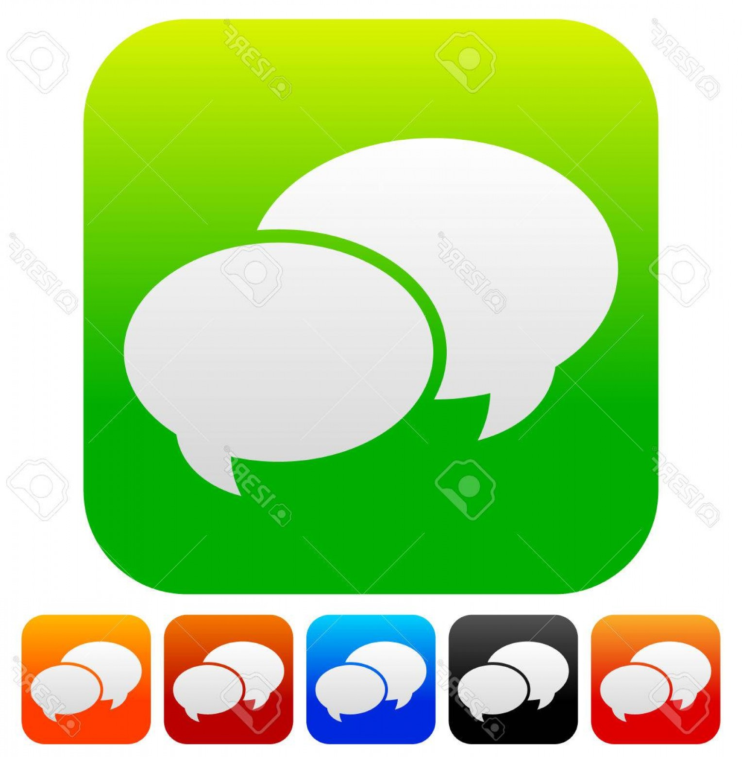 Support Vector Graphics: Photostock Vector Speech Bubble Vector Graphics Two Overlapping Speech Talk Bubbles For Communication Chat Support Con