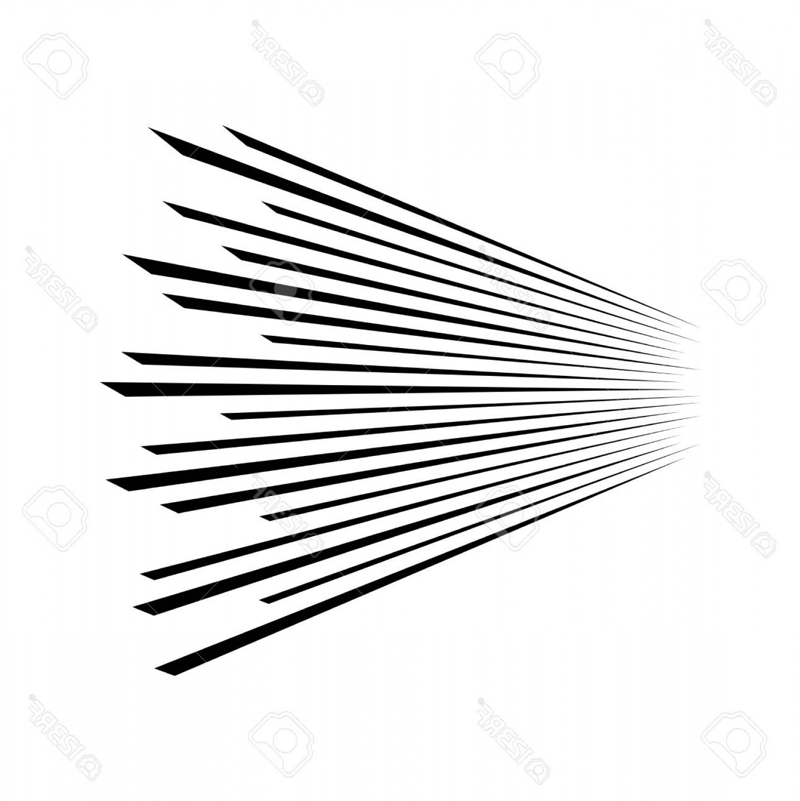 Perspective Vector: Photostock Vector Speed Lines On Abstract Background Lines In Perspective Vector