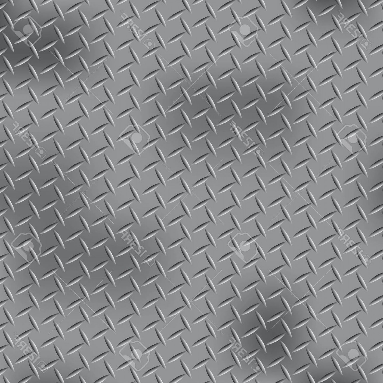 Diamond Plate Vector Pattern: Photostock Vector Steel Diamond Plate Pattern
