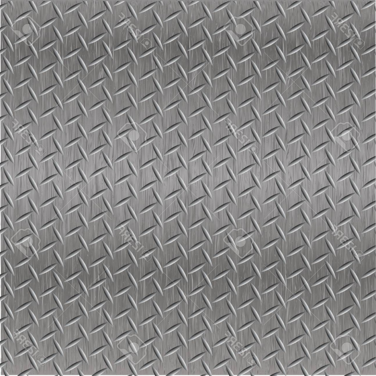 Diamond Plate Vector Pattern: Photostock Vector Steel Diamond Plate Seamless Pattern Vector Illustration