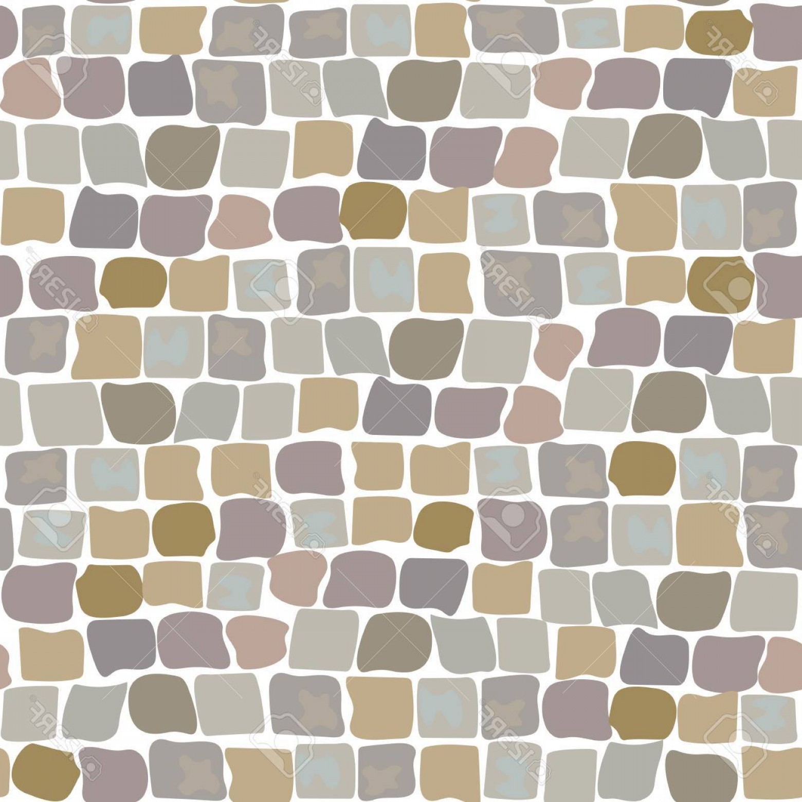 Vector Stone Landscaping: Photostock Vector Stone Vector Texture Cartoon Ground Seamless Pattern For Game Design Landscape Gardening Outdoor And