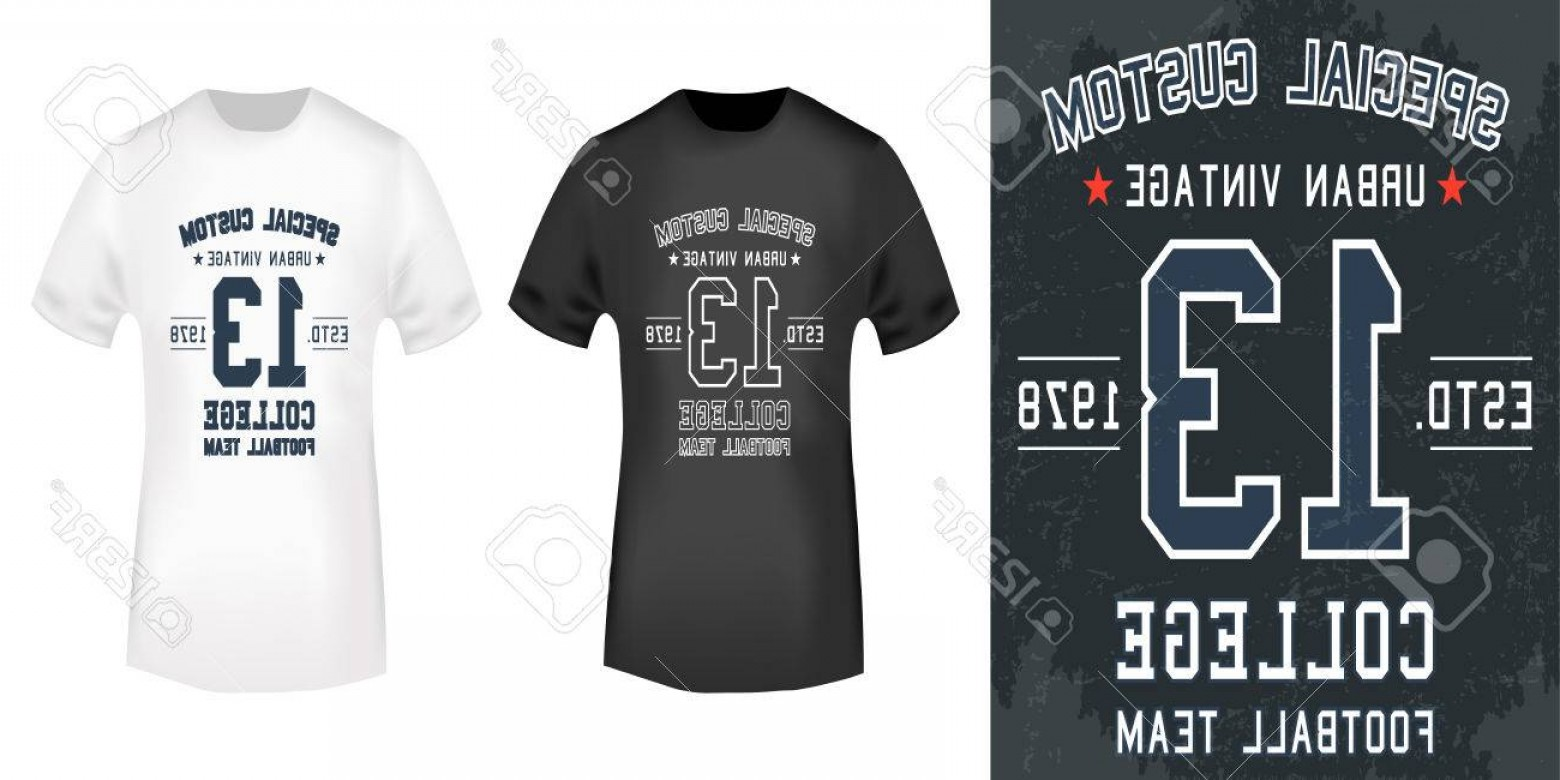 Vector Stamp Shirts: Photostock Vector T Shirt Print Design Vintage Stamp And T Shirt Mockup Printing And Badge Applique Label T Shirts