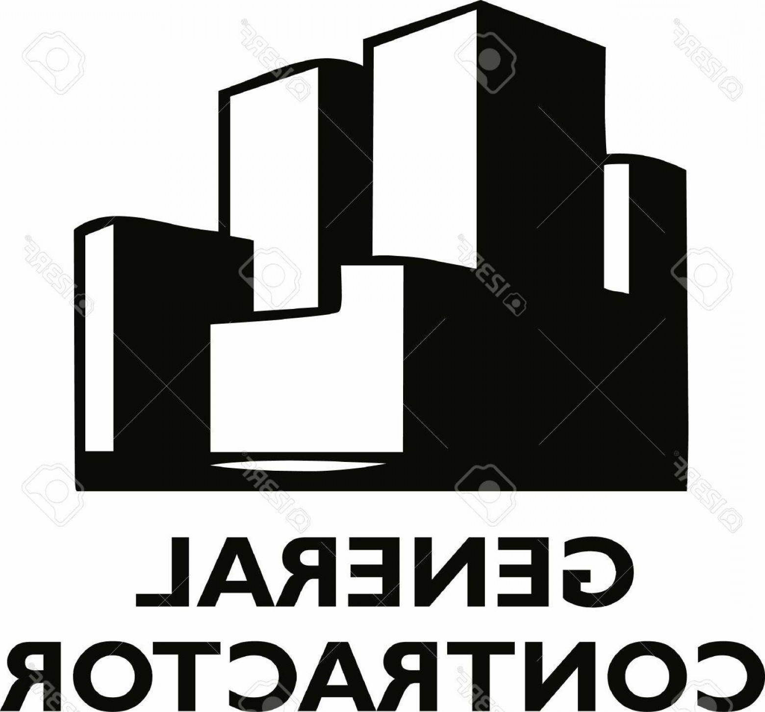 General Contractor Vector: Photostock Vector The Perfect Logo For Your Architectural Company Get This Design From Great Notions