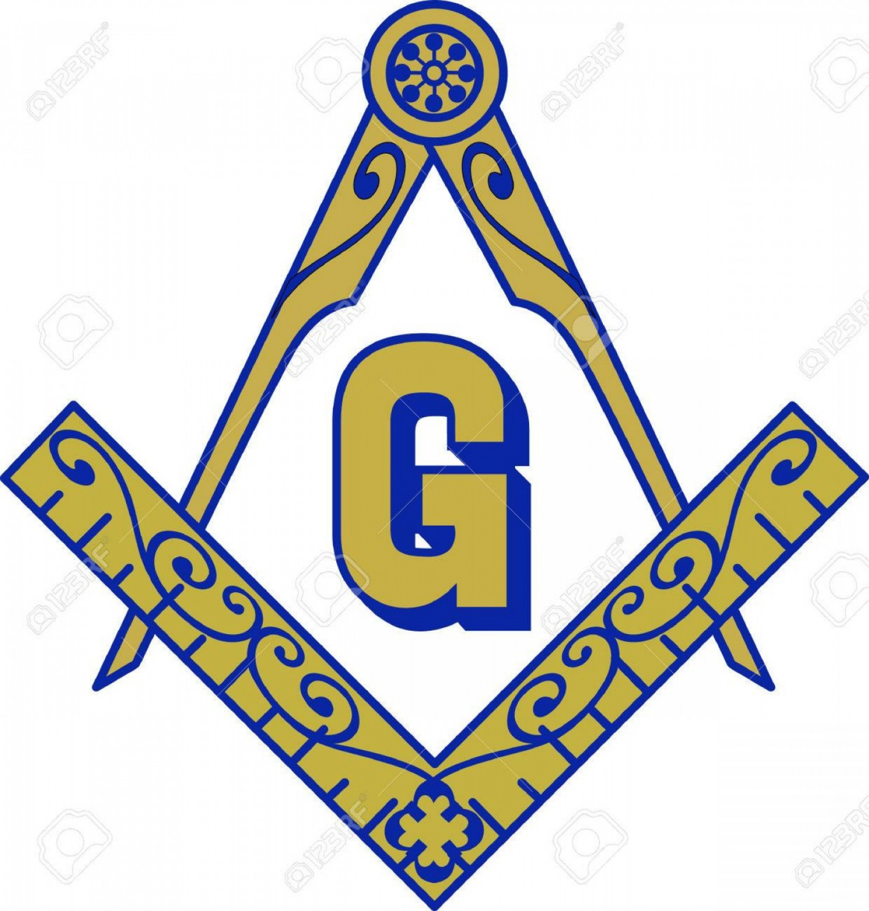 Masonic Past Master Symbol Vector: Photostock Vector The Symbol Represents Freemasonry It Stands For Faith Hope And Charity Add This Design To A Gift To