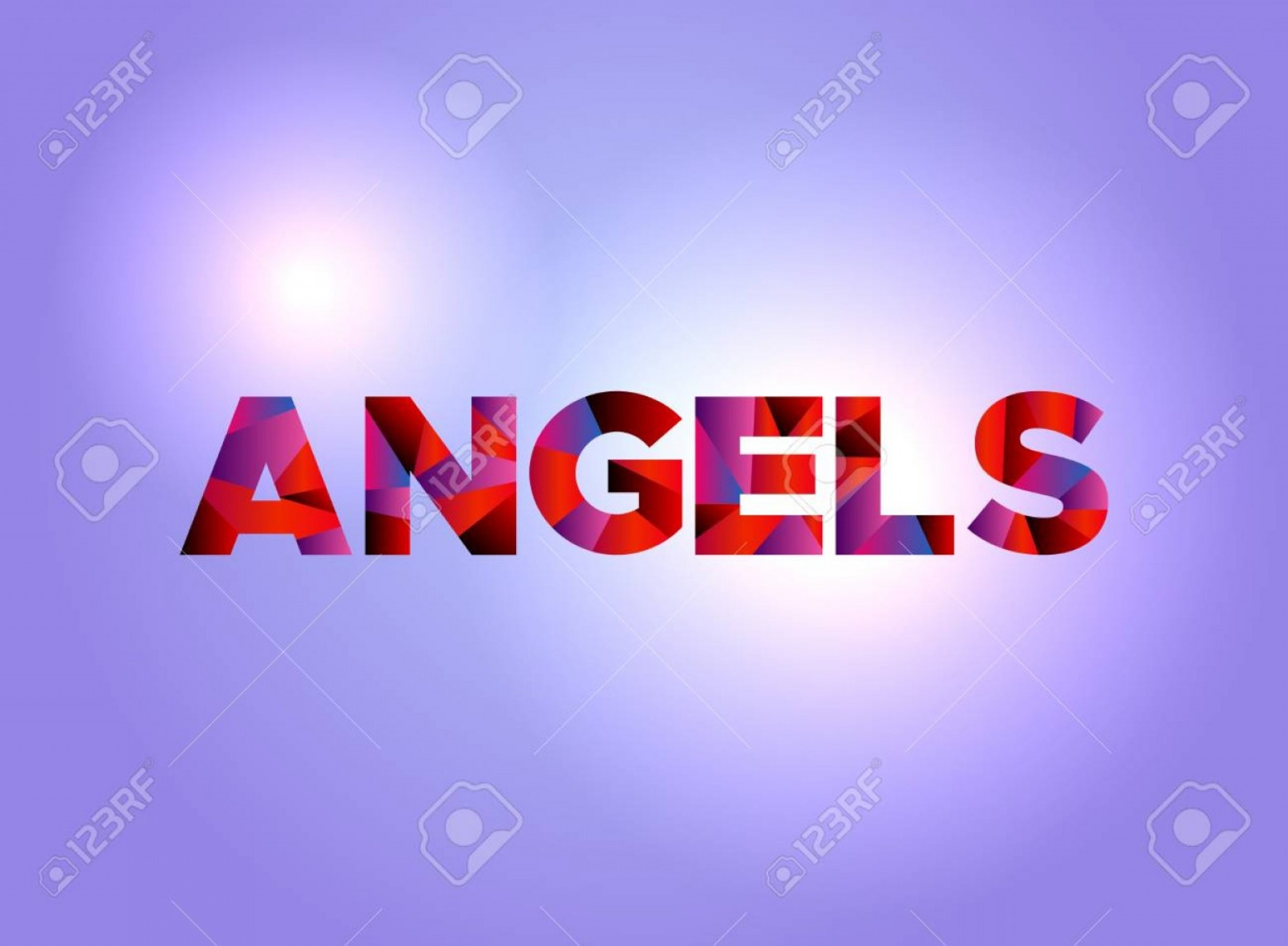 Anaheim Angels Logo Vector Art: Photostock Vector The Word Angels Written In Colorful Abstract Word Art On A Vibrant Background Vector Eps Availabl
