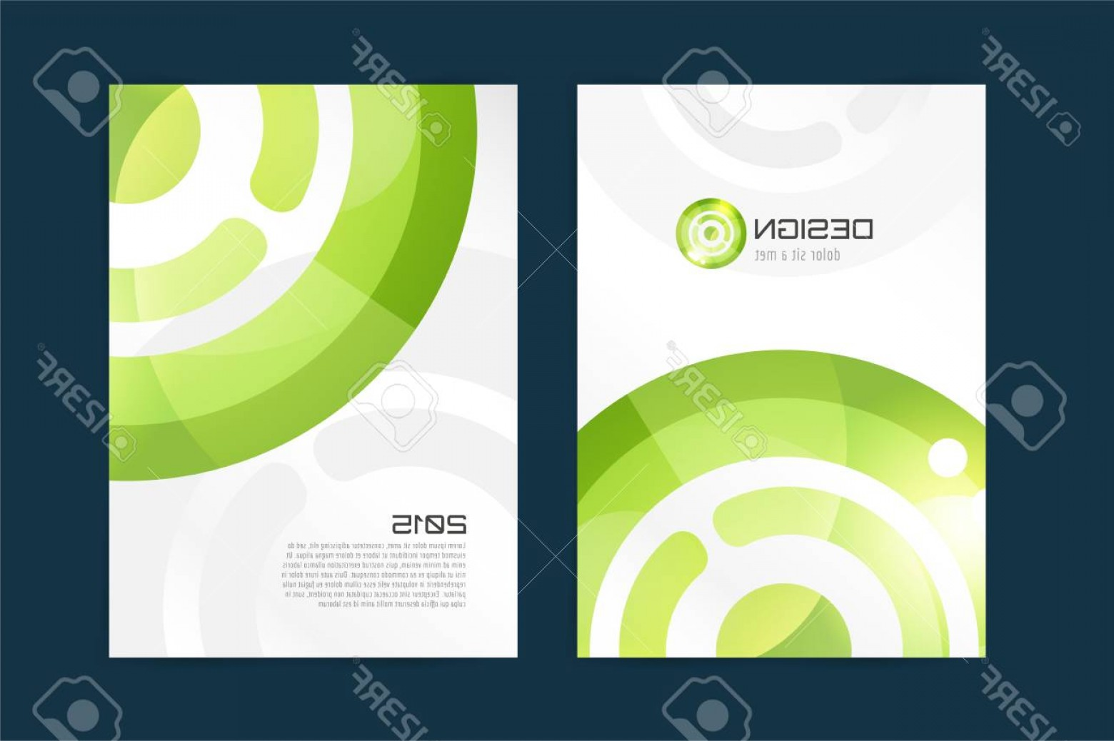 Vector Brochure Cover Designs: Photostock Vector Vector Brochure Template Abstract Design And Creative Magazine Idea Blank Book Cover Or Banner Templ
