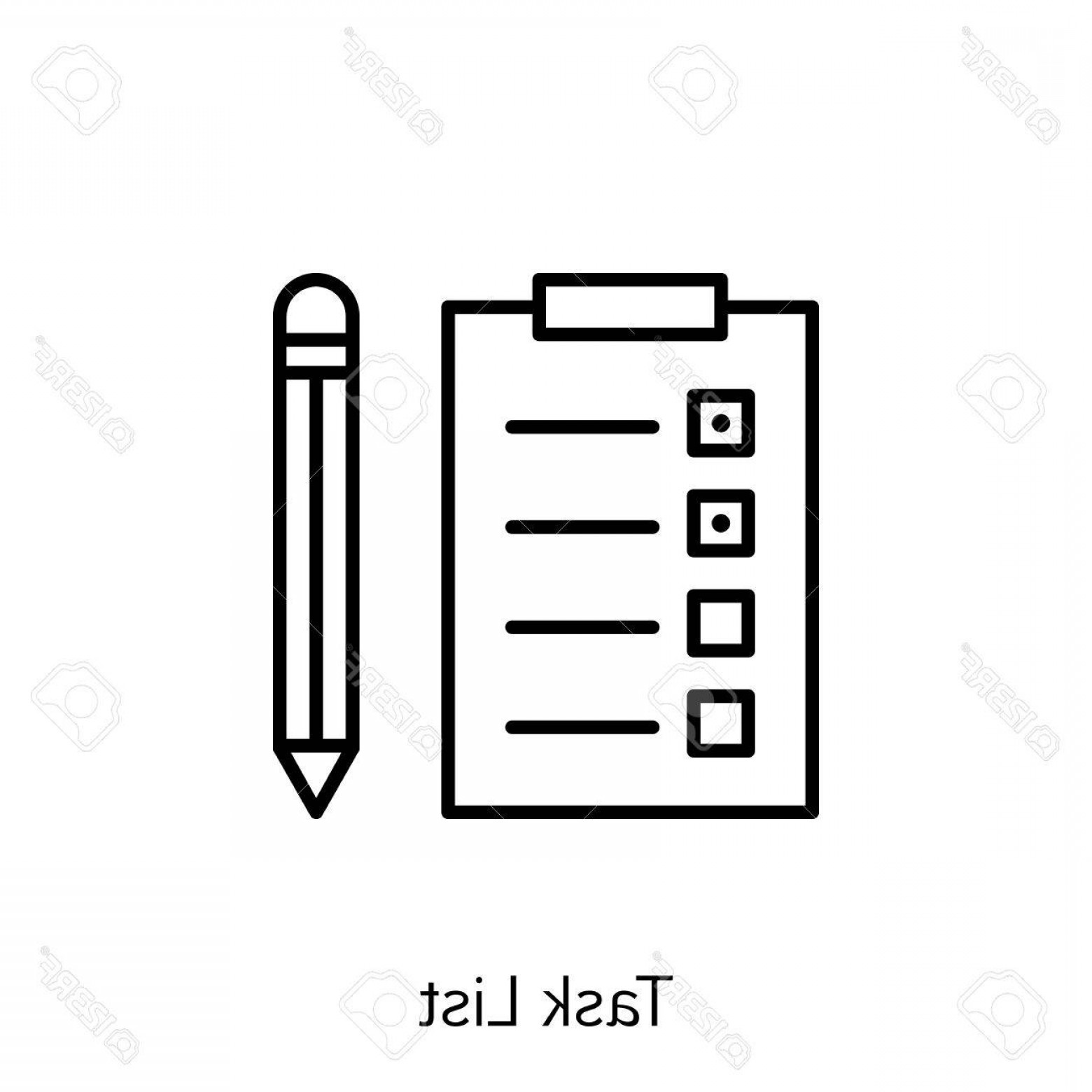 Art Project Icon Vector: Photostock Vector Vector Illustration Of Project Management Icon On Task List And Reminder In Trendy Flat Style Projec