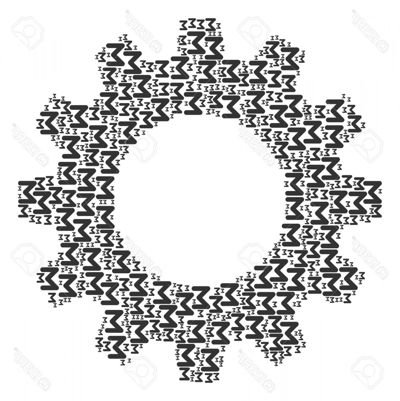 3 Sum Of Vectors Vector: Photostock Vector Vector Sum Icons Are Formed Into Cog Illustration Development Design Concept Constructed With Sum El