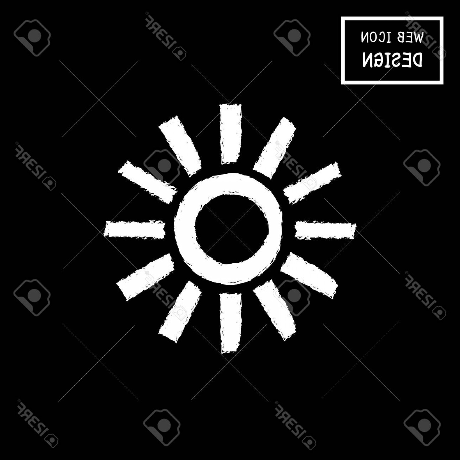 Christian Vector Sun: Photostock Vector Vector Sun Icon And Symbol Illustration Eps Great For Any Use