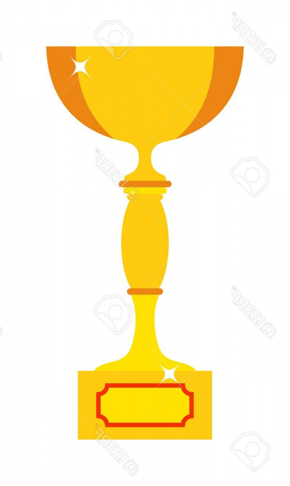 Champion Vector Art: Photostock Vector Vector Trophy Champion Cup Flat Icon Champion Cup Winner Trophy Award And Victory Prize Champion Cup