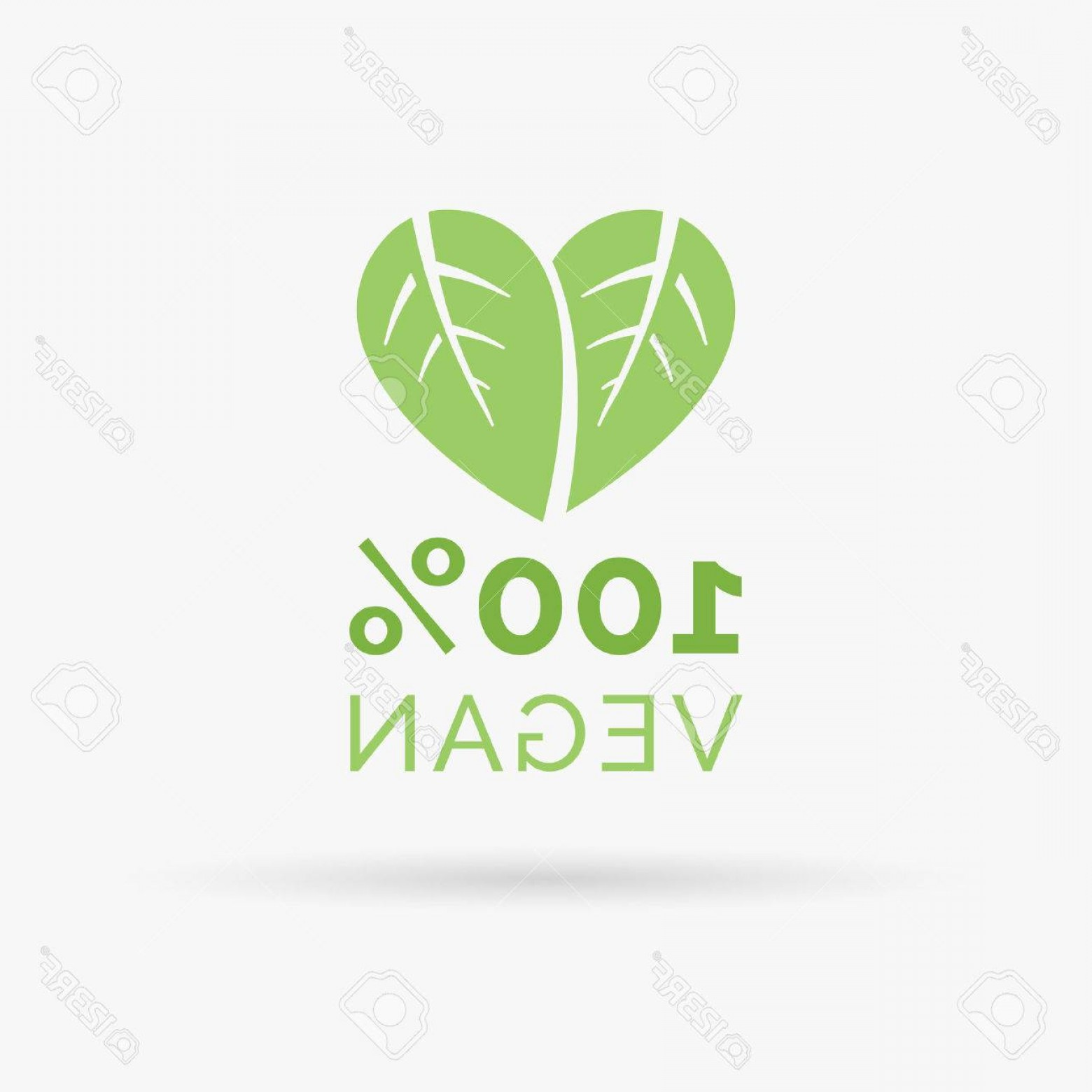 Vegan Heart Vectors: Photostock Vector Vegan Icon Design Vegan Symbol Design Vegan Food Sign With Leaves In Heart Shape Design Vect