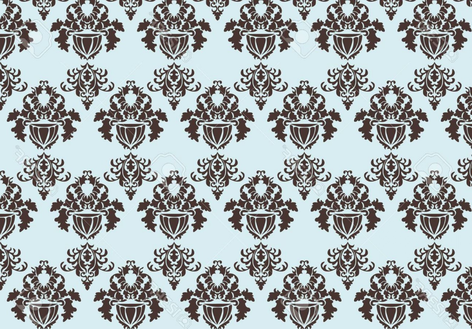 Victorian Motif Vector: Photostock Vector Vintage Baroque Pattern Ornament Damask Motif Vector Victorian Royal Stylish Ornament For Texture Fa