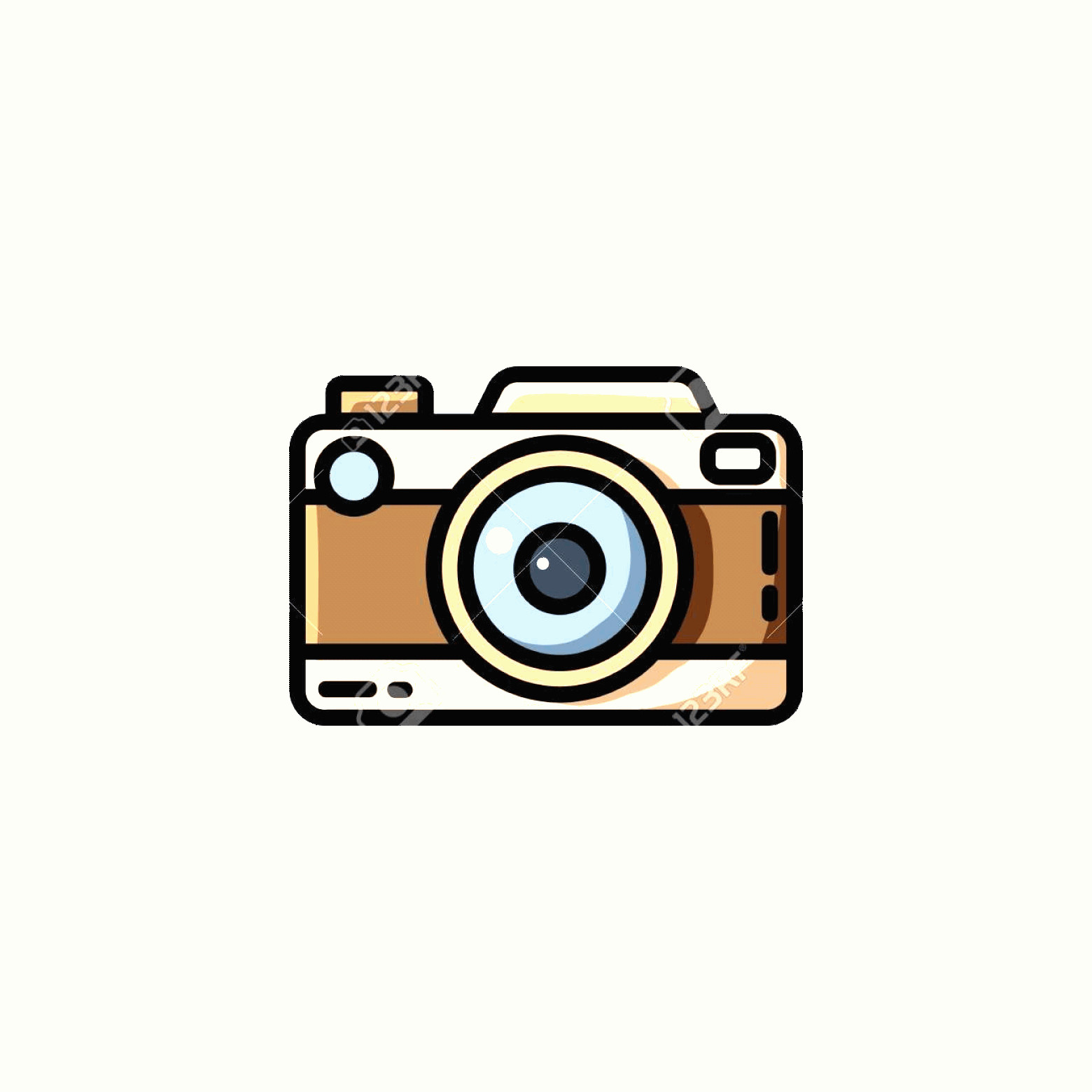 Classic Camera Vector: Photostock Vector Vintage Camera Or Retro Camera Vector Illustration In Flat Style
