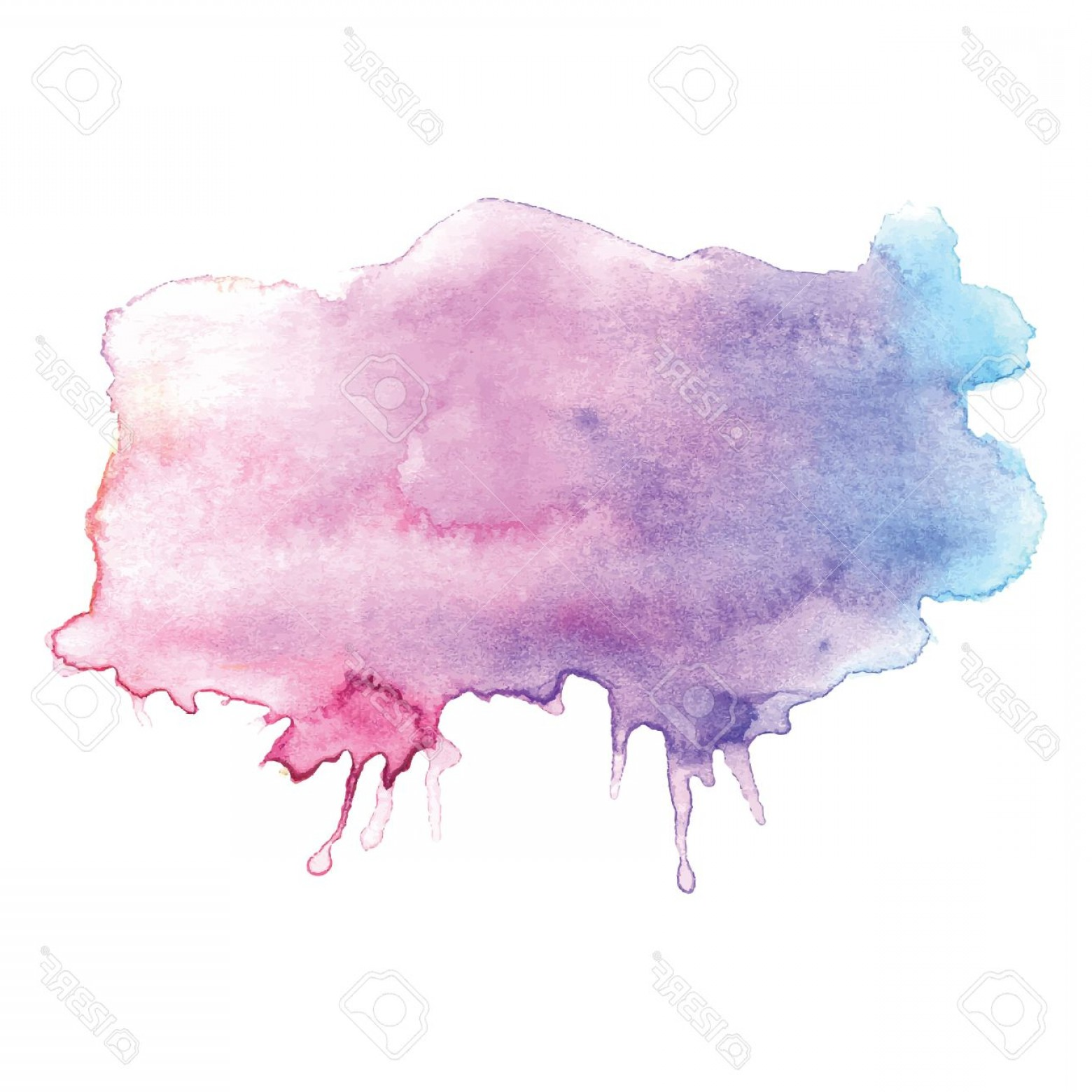 Watercolor Vector Background Free: Photostock Vector Watercolor Vector Design Element
