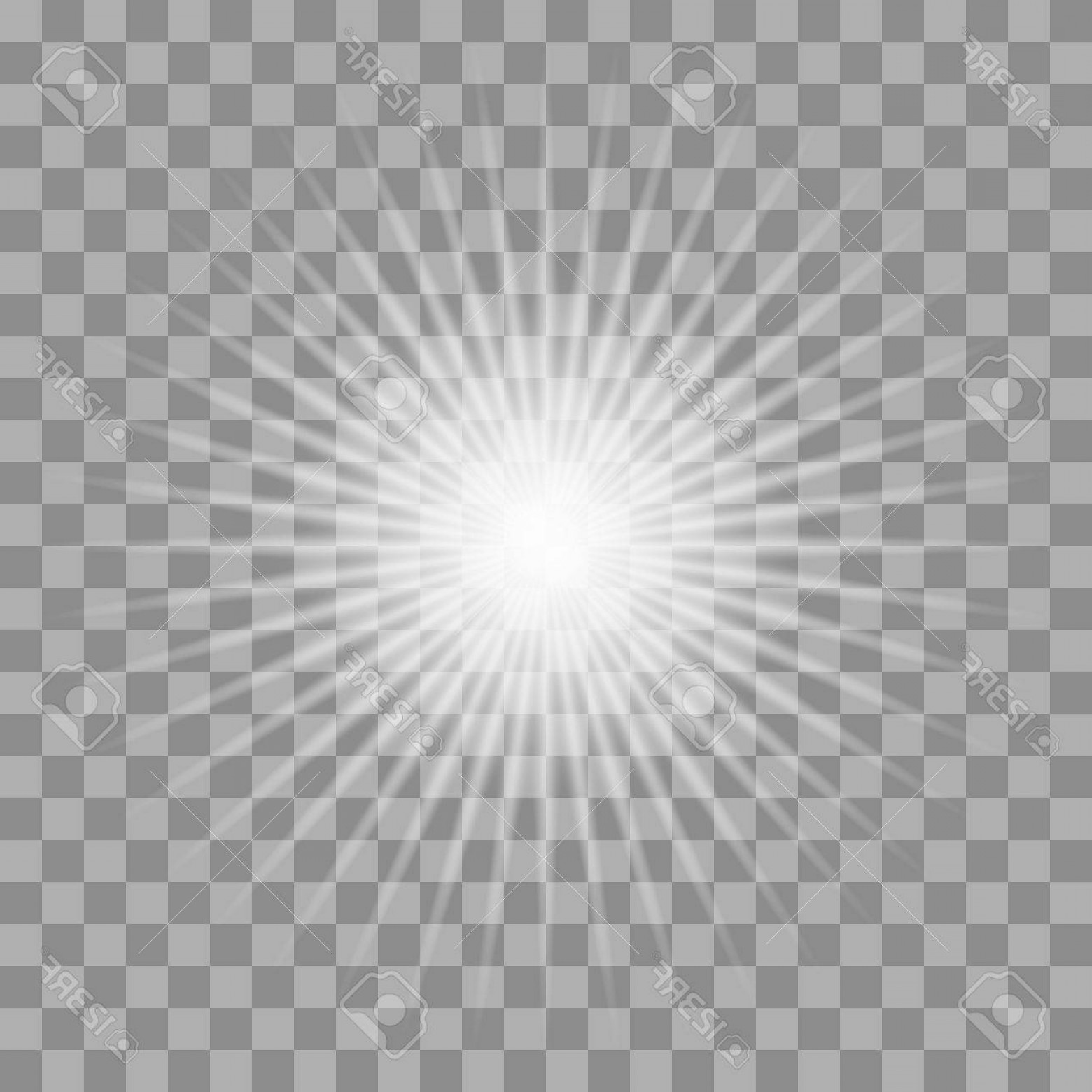 Sparkle Burst Vector: Photostock Vector White Glowing Light Burst Explosion With Transparent Vector Illustration For Cool Effect Decoration
