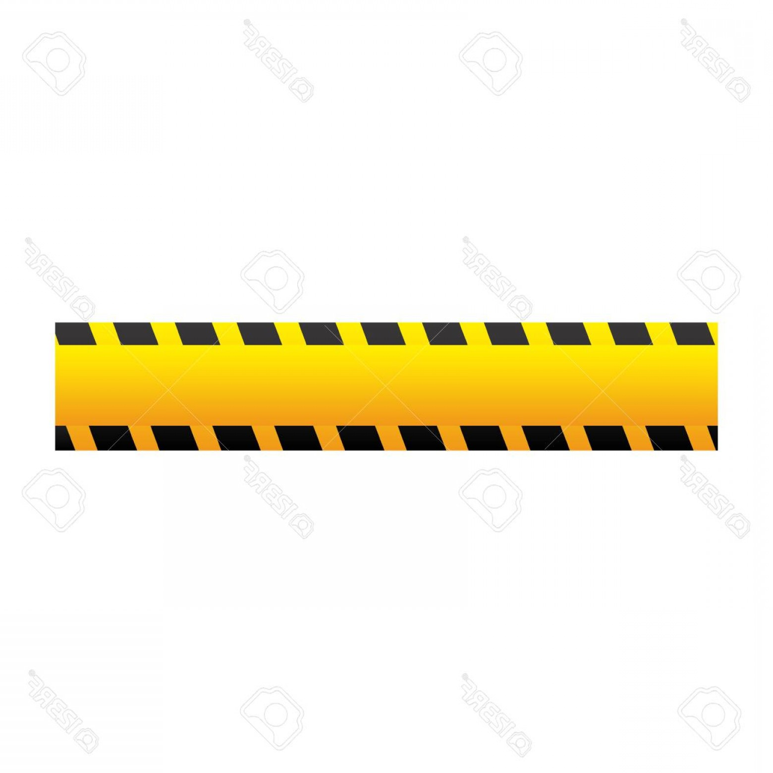 Caution Stripes Vector: Photostock Vector Yellow Caution Tape Icon Vector Illustraction Design Image