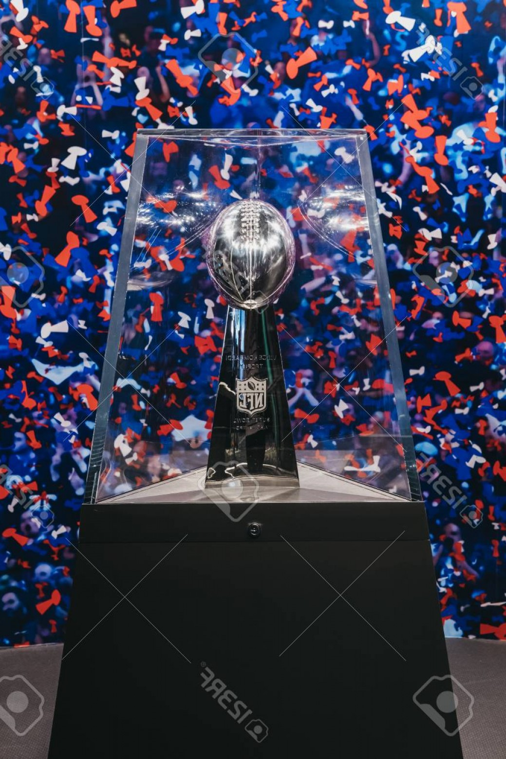 Super Bowl XLVIII Trophy Vector: Photosuperbowl Trophy On Display In Nfl Experience In Times Square New York A First Of Its Kind Live Acti