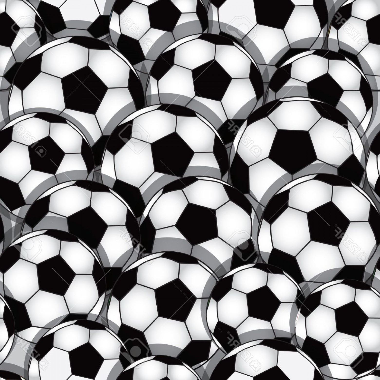 Football Vector Wallpaper: Photovector Seamless Soccer Texture Football Wallpaper Sport Background