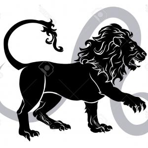 Leo Symbol Zodiac Vector: Abstract Illustration Zodiac Sign Leo Icon