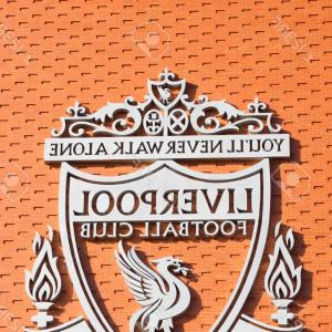 Liverpool FC Vector Logo: Photologo In The Anfield Stadium Home Of Liverpool Football Club