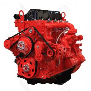 Diesel Engine Block Vector: Photored Diesel Engine Isolated On White Background