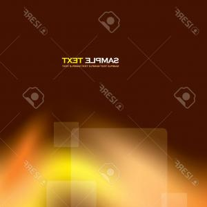 Transparent Brown Vector Background: Photostock Vector A Vector Illustration Of An Abstract Orange Wavy Background Smooth Layered Transparent Yellow Orange