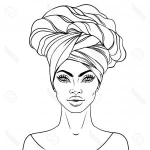 Black Afro Woman Vector: Afro Woman With Sunglasses Vector