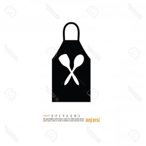 Apron Vector: Apron Vector Icon Filled Flat Sign Mobile Concept Web Design Barber Apron Simple Solid Icon Symbol Logo Illustration Pixel Image