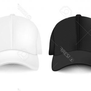 Baseball Visor Vector Silhouette: Photostock Vector Baseball Cap With Gradient Mesh Vector Illustration
