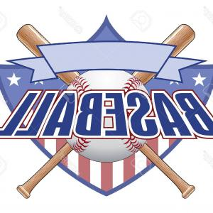 Distressed Baseball Bat Vector Art: Photostock Vector Baseball Design With Shield Is An Illustration Of A Baseball Design Includes A Shield Baseball Baseb