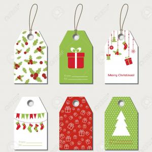 Vector Christmas Toppers: Photostock Vector Christmas Gift Tags Vector Gift Labels Tags