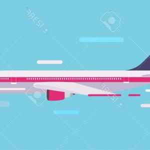 Airplane Travel Vectors: Plane Logo Set Vector Air Travel Logos Or Flight Airplane Travelling Signs With Blue Gm