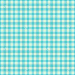 Vector Flannel Blanket: Photostock Vector Cyan Checkered Textile Products Texture Gingham Seamless Pattern Vector Illustration Squares Or Rhom