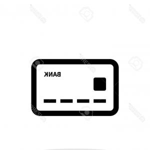 Debit Card Vector: Photostock Vector Debit Card Icon On White Background
