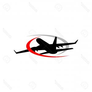 Airplane Travel Vectors: Airplane Flight Tickets Air Fly Travel Takeoff Vector